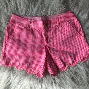Lilly Pulitzer Scalloped Buttercup Shorts